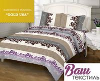 Комплект постельного белья Zastelli 5А Арабески бязь Gold USA