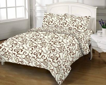 Комплект постельного белья Zastelli 40-0457 Вензеля бязь Gold USA фото 2