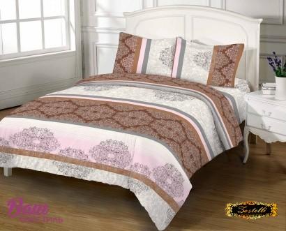 Комплект постельного белья Zastelli 1210 Азулежу бязь Gold USA фото