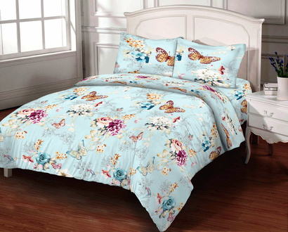 Bed linen set Zastelli Butterfly Calico Gold USA фото 2
