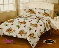 Bed linen set Zastelli 9803 Calico Gold USA фото