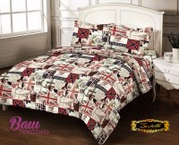 Комплект постельного белья Zastelli 4389-11 Великобритания бязь Gold USA