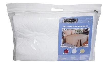 Покривало шовкове біле ZASTELLI фото 2
