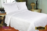 Bedspread ZASTELLI 743 Cotton white фото