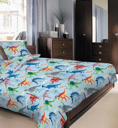 Детское постельное белье Zastelli 14638 Динозавры бязь  фото 4