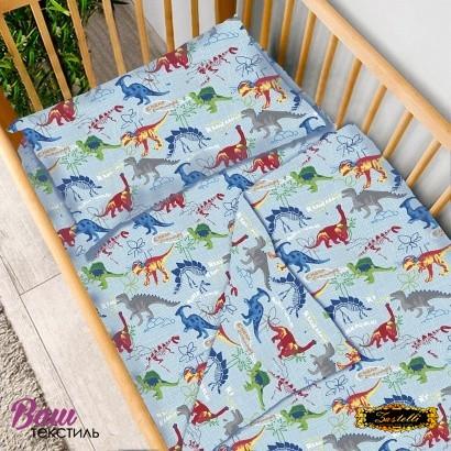 Детское постельное белье Zastelli 14638 Динозавры бязь  фото