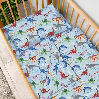 Детское постельное белье Zastelli 14638 Динозавры бязь  фото 2