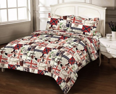 Bed linen set Zastelli 4389-11 Calico Premium фото 3