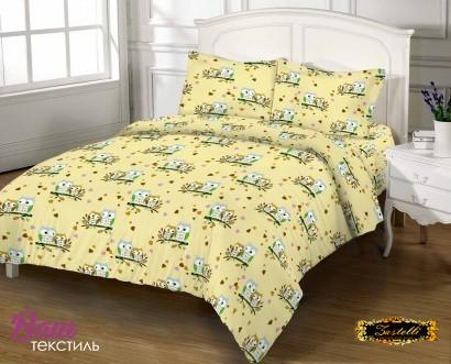 Постельное белье Zastelli 8815 Влюбленные совушки бязь Премиум фото