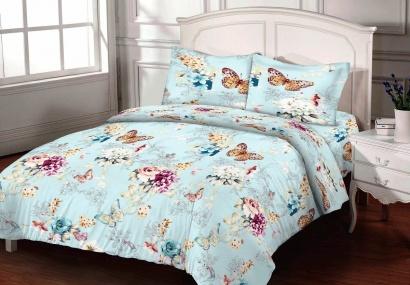 Bed linen set Zastelli Butterfly Calico Premium фото 3