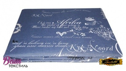 Table cloth Zastelli Blue Cotton фото