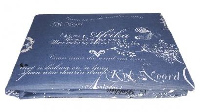 Table cloth Zastelli Blue Cotton фото 2