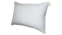 Quilted down pillow ZASTELLI with zipper Ostrich