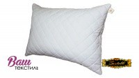 Quilted down pillow ZASTELLI with zipper Ostrich фото