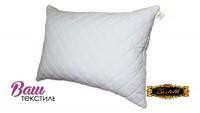 Quilted down pillow ZASTELLI with zipper Ostrich