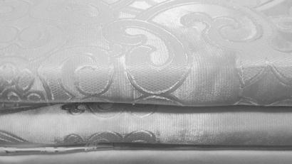 Постельное белье Word of Dream Снежный FSM406 Жаккард белый  фото 6