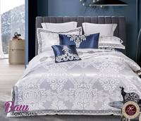 Bed linen set Word of Dream FSM406 Jacquard with embroidery