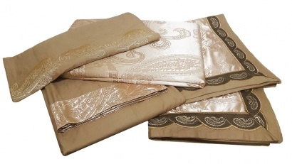 Bed linen set Word of Dream FSM404 Jacquard with embroidery фото 6