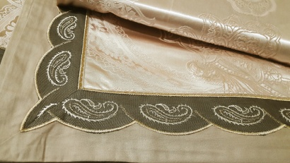 Bed linen set Word of Dream FSM404 Jacquard with embroidery фото 5