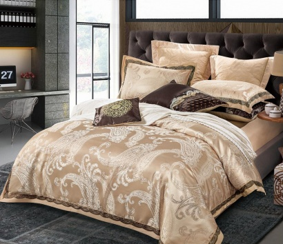 Bed linen set Word of Dream FSM404 Jacquard with embroidery фото 3