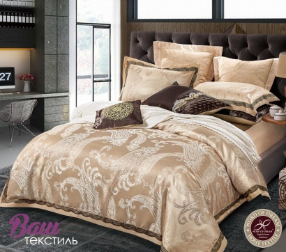 Bed linen set Word of Dream FSM404 Jacquard with embroidery фото