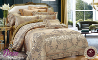 Bed linen set Word of Dream FSM403 Jacquard with embroidery