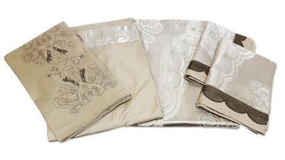 Bed linen set Word of Dream FSM402 Jacquard with embroidery фото 7