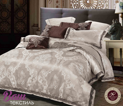 Bed linen set Word of Dream FSM402 Jacquard with embroidery фото