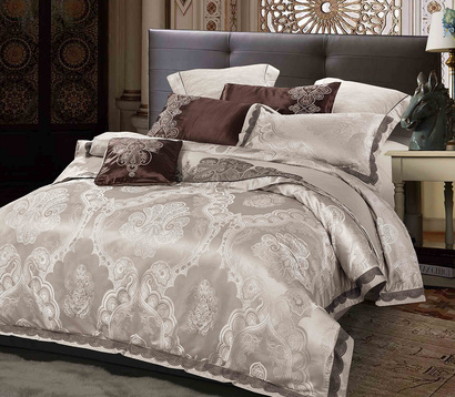 Bed linen set Word of Dream FSM402 Jacquard with embroidery фото 2