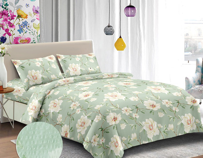 Bed linen set Zastelli 9517 Seersucker фото 2