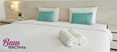 Bed linen sets for hotels фото