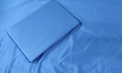 Постельное белье Zastelli Navy шелк чернильный фото 4