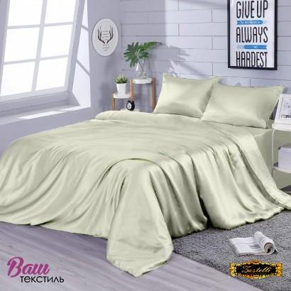Постільна білизна Zastelli Pearl шовк айворi фото