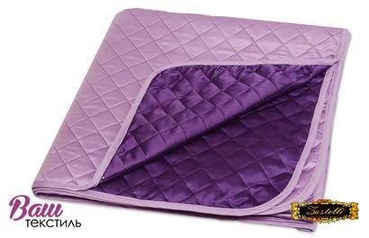 Покрывало шелковое фиолетовое ZASTELLI  фото