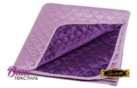 Покривало шовкове фіолетове ZASTELLI фото
