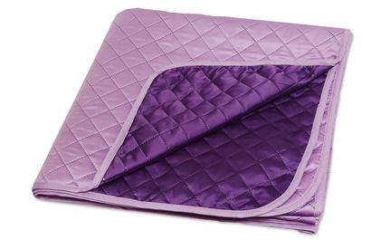 Покрывало шелковое фиолетовое ZASTELLI  фото 2