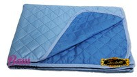 Two-sided bedspread ZASTELLI Blue фото