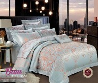 Bed linen set Word of Dream FSM509 Jacquard with embroidery
