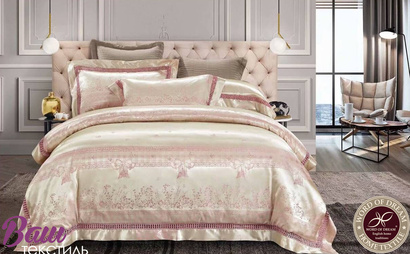 Bed linen set Word of Dream JQ15 Jacquard  фото