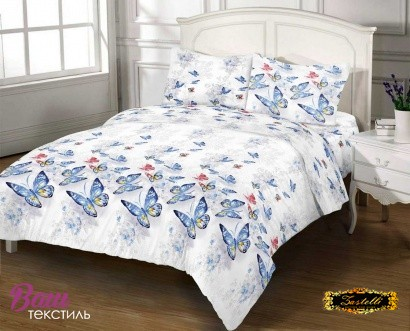 Bed linen set Zastelli 20807 Butterfly Cotton фото