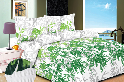 Bed linen set Zastelli 363-7 seersucker фото 2