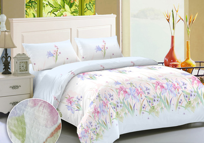 Bed linen set Zastelli 17078 seersucker фото 2