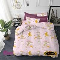 Детское постельное белье Zastelli 26 Медвежата на розовом бязь фото
