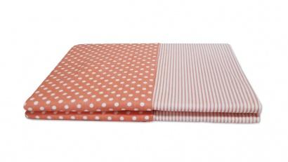 Постельное белье для новорожденных Zastelli 137+139 Розовое в горошек фото 9