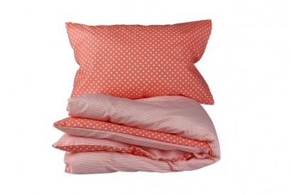 Постельное белье для новорожденных Zastelli 137+139 Розовое в горошек фото 8