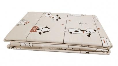 Постельное белье для новорожденных Zastelli 229 Котики-Собачки бязь  фото 9