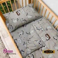 Bed linen set for newborn Zastelli 229 фото