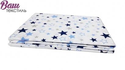 Постельное белье для новорожденных Zastelli 365 Космос бязь  фото 6