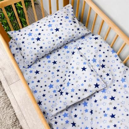 Постельное белье для новорожденных Zastelli 365 Космос бязь  фото 2