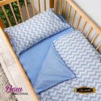 Bed linen set for newborn Zastelli 26+182 фото